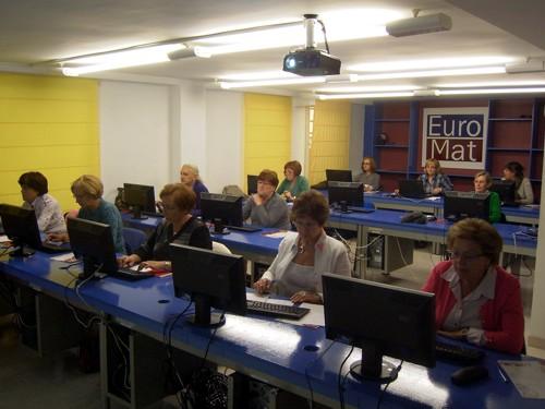 curso de informática en Euromat (Alcañiz)