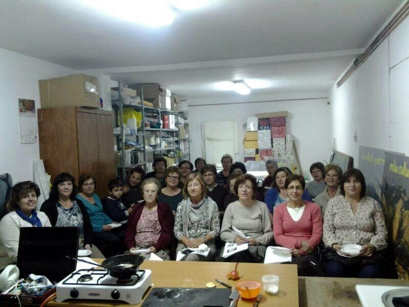 Cocina en Peñarroya de Tastavins
